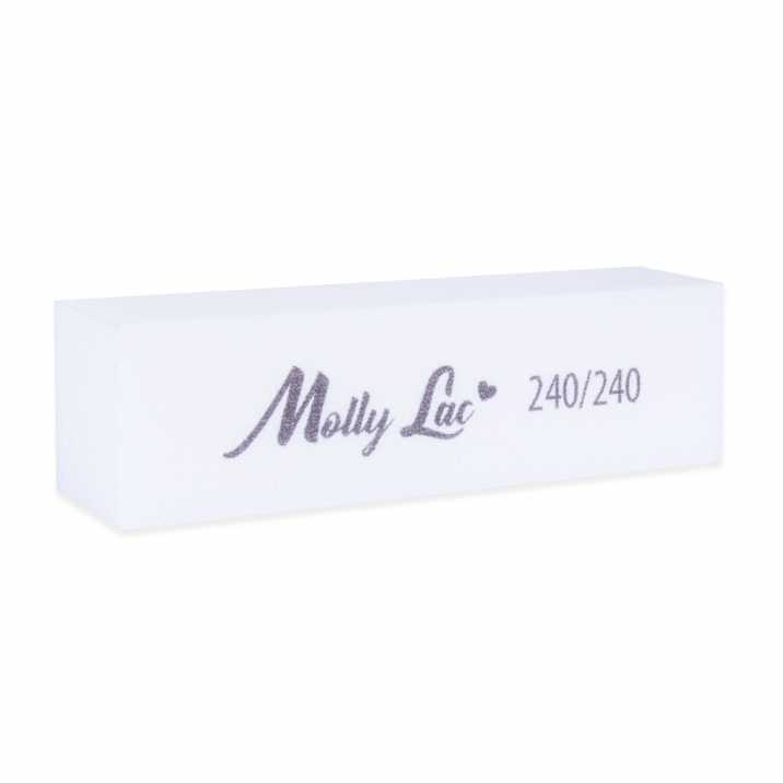Blok polerski biały 240/240 MollyLac 1szt