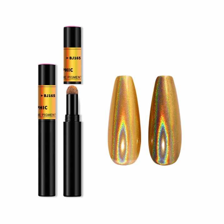 Pyłek do zdobienia paznokci w pisaku Titanium Magic PEN BJ165