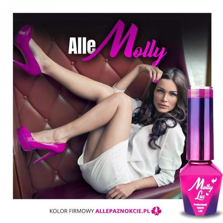AlleMolly Molly Lac 5ml Hybrid Lacquer No  000